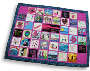 The stories behind the quilt